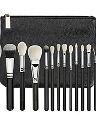 cheap -Professional Makeup Brushes 10pcs Soft Lovely Comfy Plastic for Concealer & Base Powders Foundation Blush Brush Makeup Brush Lip Brush Eyeshadow Brush