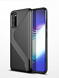 Недорогие -чехол для телефона для samsung galaxy s11e / s11 / s11 plus чехол мягкий силиконовый чехол в полоску s форма чехол для samsung galaxy s11e / s11 / s11 plus coque