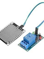 Недорогие -Дождевая вода дождевой воды 12 В датчик влажности чувствительный реле комплект модуля управления для arduino diy