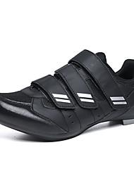 cheap -Adults' Bike Shoes Mountain Bike Shoes Breathable Anti-Slip Mountain Bike MTB Road Cycling Cycling / Bike Black / Red Black / White Men's Women's Cycling Shoes