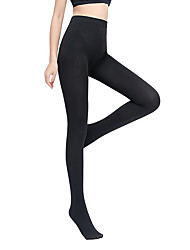 cheap -Women's Thin Pantyhose - Solid Colored / Fashion 200D Black One-Size