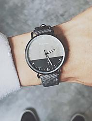 cheap -Men's Sport Watch Quartz PU Leather Black / Blue / Khaki No Chronograph Cute New Design Analog New Arrival Fashion - Black Blue Coffee One Year Battery Life