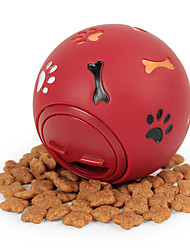 cheap -Ball Chew Toy Interactive Toy Dog Cat Pet Toy 1pc Pet Friendly Food Elastic Rubber Gift