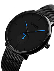 cheap -Men's Dress Watch Digital Formal Style Stylish Stainless Steel Black 30 m Water Resistant / Waterproof Casual Watch Analog Luxury Casual - White Green Blue Two Years Battery Life