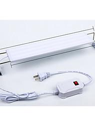 Недорогие -Аквариумы LED подсветка Белый С переключателем Светодиодная лампа 220 V V пластик