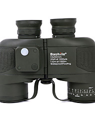 cheap -Boshile 10 X 50 mm Binoculars Range Finder Lenses Waterproof Night Vision in Low Light Compass Fully Multi-coated BAK4 Camping / Hiking Hunting Fishing Aluminium Alloy / IPX-6