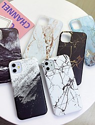 cheap -Case for Apple scene map iPhone 11 X XS XR XS Max 8 Marble pattern fine frosted TPU material IMD process all-inclusive mobile phone case