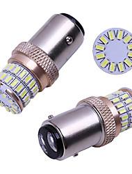 cheap -2pcs S25 1156 BA15S p21w 1157 Bay15d P21/5W LED Turn Signal Light 3014 48SMD DC12V Car Rear Tail Parking Light brake Lamp