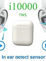 Недорогие -LITBest i10000 TWS True Беспроводные наушники Беспроводное EARBUD Bluetooth 5.0 С подавлением шума Стерео Двойные драйверы