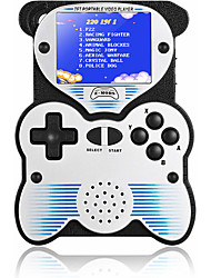 cheap -12 Bit Handheld Games Console for Kids Portable Games Console Built-in 220 Classic Games Panda Design 2.5 Inch LCD Arcade Gaming System USB Charge for Children