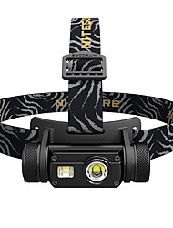 cheap -Nitecore HC65 Headlamps Waterproof 1000 lm LED LED Emitters Manual Mode Waterproof Portable Easily Adjustable Lightweight Wearable Camping / Hiking / Caving Everyday Use Hunting Black