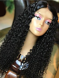 cheap -Synthetic Wig Afro Curly Asymmetrical Wig Long Natural Black Synthetic Hair 27 inch Women's Best Quality Black