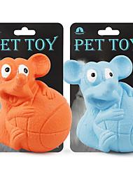 Недорогие -Игрушки с писком Собаки Коты Животные Игрушки Фокусная игрушка Эластичный Другие материалы Подарок