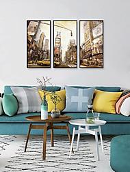 cheap -Framed Art Print Framed Set - Landscape PS Oil Painting Wall Art