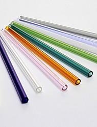 cheap -Drinkware Straws Mouth Blow High Born Glass Portable Random color 20cm