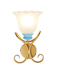 cheap -American Hardware Wall Lamp/corridor Lamp Simple Creative Study Lamp Bedroom Lamp Atmospheric Duplex Villa Tieyi Lamps