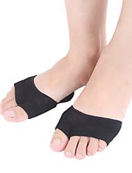 abordables -1 paire Femme Chaussettes Standard Couleur Pleine Soulage le Stress Coton EU36-EU42