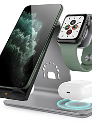 cheap -3 in 1 Wireless Chargers Wireless Charger For iPhone 11 iPhone 11 Pro iPhone 11 Pro Max Wireless Charger 10 W Output Power