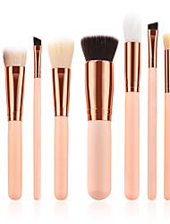 cheap -Miyaup 9 pink makeup brushes low price make-up brush wooden pole nylon hair teenage beauty cosmetic brush