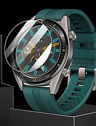 Недорогие -защитная пленка для часов huawei gt active закаленное стекло прозрачное высокое разрешение (hd) царапинам / твердость 9 ч