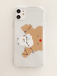 cheap -Case for Apple scene map iPhone 11 X XS XR XS Max 8 Cartoon pattern high transparent thick TPU material all-inclusive mobile phone case