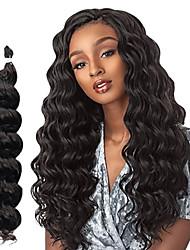 cheap -Costume Accessories Crochet Hair Braids Wavy Box Braids Natural 100% kanekalon hair 18 inch Braiding Hair 6-Pack / The hair length in the picture is 18 inch.