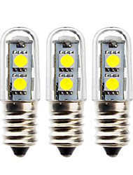 cheap -3pcs 1 W LED Globe Bulbs 50 lm E14 5050 LED Beads SMD 5050 Decorative Warm White White 180-240 V