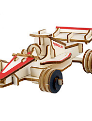 cheap -Car 3D Puzzle Jigsaw Puzzle Wooden Puzzle Metal Puzzle Wooden Model DIY Metalic Kid's Adults' Toy Gift
