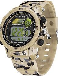 cheap -SYNOKE Digital Watch Digital Sporty Stylish Silicone 30 m Water Resistant / Waterproof Calendar / date / day LCD Digital Outdoor Fashion - Green Red Blue
