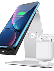 cheap -10 W Wireless Charger USB Charger USB Wireless Charger 1 USB Port 2 A / 1.67 A DC 9V / DC 5V for Apple Watch Series 4/3/2/1 iPhone 11 / iPhone 11 Pro / iPhone 11 Pro Max