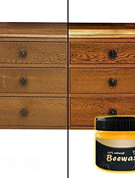 cheap -Wood Seasoning Beewax Wood Care Wax Solid Wood Maintenance Cleaning Polished Waterproof Wear-Resistant Wax Furniture Care