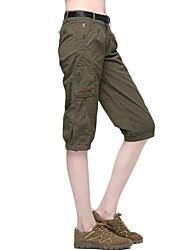 abordables -Femme Shorts de Randonnée Extérieur Respirable Séchage rapide Faible Frottement Résistance à l'usure Elasthanne Cuissard  / Short Pantalons / Surpantalons Randonnée Activités Extérieures Camping Vert