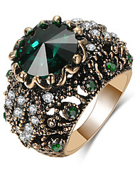 cheap -Women's Band Ring 1pc Red Green Blue Alloy irregular Elegant Trendy Gift Daily Jewelry Happy Cool