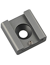 cheap -CAMVATE Cold Shoe Mount Adapter Bracket Hotshoe with 1/4 Mounting Hole C1340