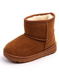 cheap -Girls' Comfort Suede Boots Little Kids(4-7ys) Black / Pink / Brown Fall / Booties / Ankle Boots
