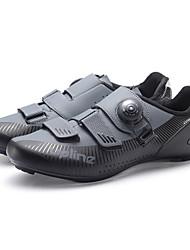 cheap -Adults' Bike Shoes Road Bike Shoes Breathable Anti-Slip Mountain Bike MTB Road Cycling Cycling / Bike Black Black / Red Black / White Men's Women's Cycling Shoes
