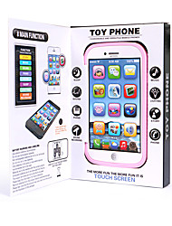 cheap -HS-MY905 Toy Phone Educational Toy Learning Pad Y-phone Touch Screen Rechargeable Cool Simulation Parent-Child Interaction Music & Light with Screen Kid's Child's All 1 pcs Toy Gift
