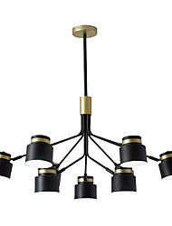 cheap -9-Light Nordic modern light new simple atmospheric household dining room light creative Nordic bedroom living room Mini Chandelier