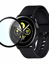 cheap -Screen Protector for Samsung Galaxy Watch Active /Watch Active 2  Anti-Scratch 3D Protective Full Coverage Tempered Glass Screen Film