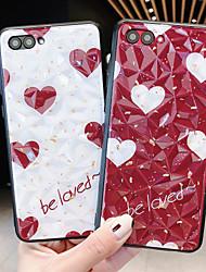 Недорогие -Кейс для Назначение Huawei Huawei Nova 4 / Huawei nova 4e / Huawei P20 Защита от удара Кейс на заднюю панель Слова / выражения / С сердцем ПК