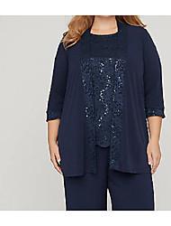 cheap -3/4 Length Sleeve Coats / Jackets Chiffon Wedding Women's Wrap With Lace
