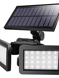 cheap -BRELONG Solar Infrared Radar Sensor Wall Light LED Garden Light 48LED Bright Waterproof Wall Light
