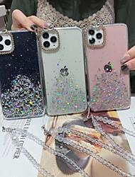 cheap -Case For Apple iPhone 11 / iPhone 11 Pro / iPhone 11 Pro Max Shockproof / Rhinestone / Glitter Shine Back Cover Transparent / Glitter Shine Acrylic / PC