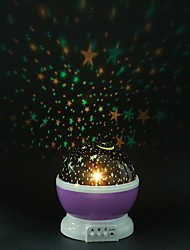 cheap -Starry Sky Projector Galaxy Night Lights Star Moon Projector LED Rotating Night Lamp For Children Bedroom Decoration Baby Gifts