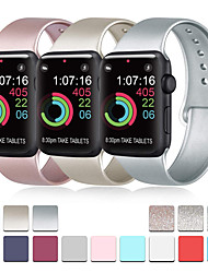 cheap -Watch Band for Apple Watch Series 4 Apple Watch Series 3 Apple Watch Series 2 Apple Sport Band Silicone Wrist Strap