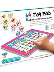 Недорогие -Игрушка для обучения чтению пение говорящий Взаимодействие родителей и детей Креатив Пластиковый корпус 1 pcs Детские Все Игрушки Подарок