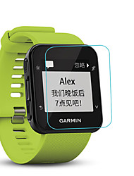 cheap -Smart Watch Screen Protector for Forerunner 35 Garmin Tempered Glass High Definition (HD)  Anti Scratch Bubble Free Clear Film 1 pc