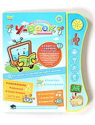 Недорогие -Игрушка для обучения чтению говорящий Взаимодействие родителей и детей Мультяшная тематика ПВХ (поливинилхлорида) 1 pcs Детские Все Игрушки Подарок