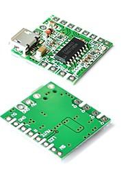 cheap -5PCS PAM8403 DC 5V Mini Class D 2x3W USB Power Amplifier Board DIY Bluetooth Speaker Class D Digital Amplifier Board