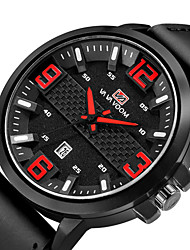 cheap -Men's Dress Watch Digital Formal Style Modern Style Stainless Steel Black 30 m Water Resistant / Waterproof Casual Watch Analog - Digital Luxury Casual - White Blue Red Two Years Battery Life